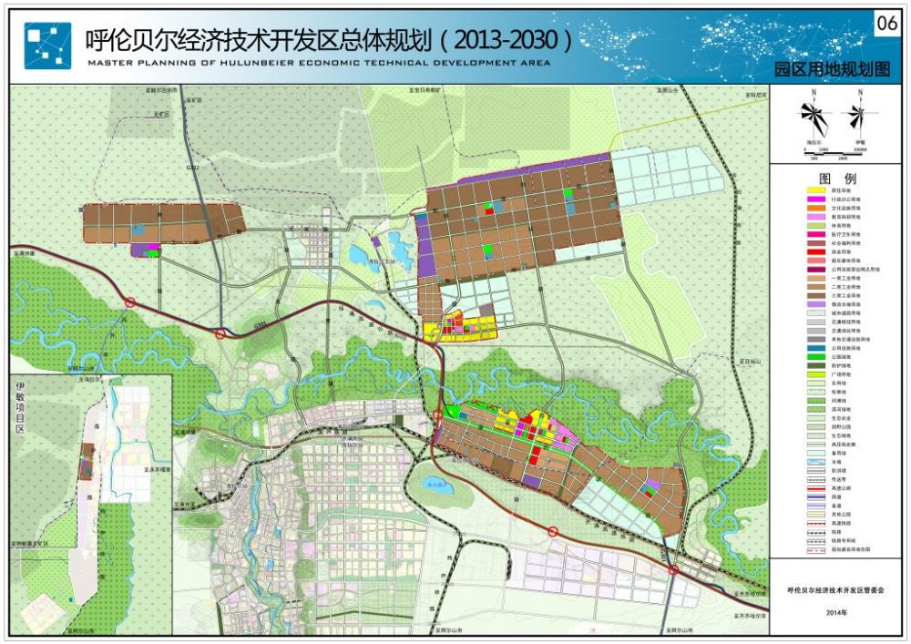 06-呼伦贝尔经开区 园区用地规划图20140328