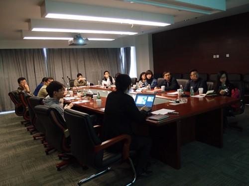 上海市浦东新区规划和土地管理局同仁与我院进行大数据平台建设交流