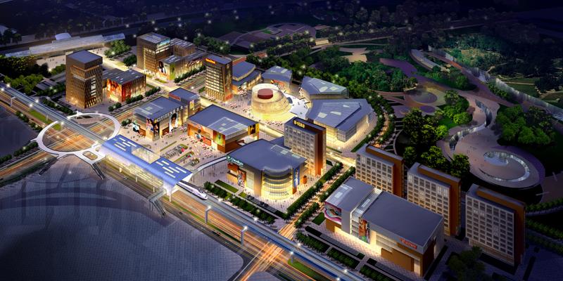 北京轨道交通房山线南关站及周边用地一体化城市设计