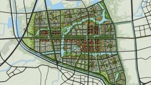 北京市海淀区北部地区03片区城市设计及控制