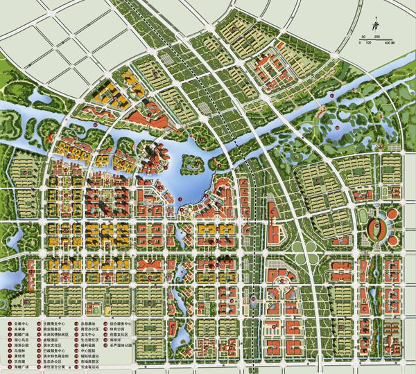 黄骅市城市中心区城市设计