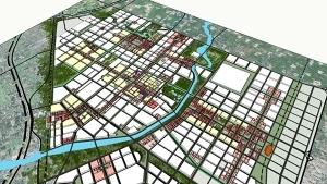 武威总体城市设计