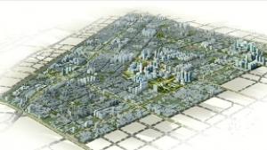郑州市文化路以西片区城市设计