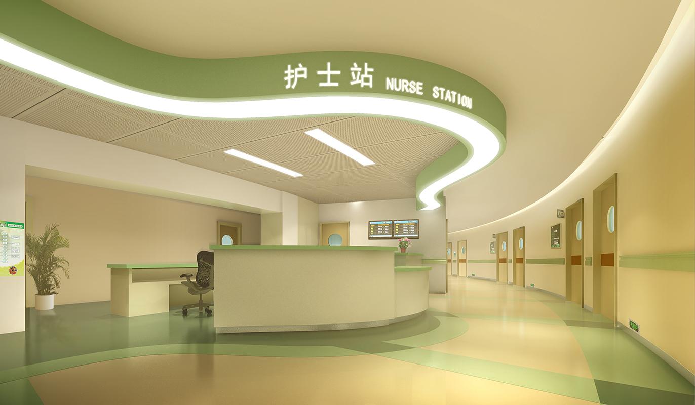 项目简介 立足于阿康医院二级综合医院的定位,充分考虑医院室内环境