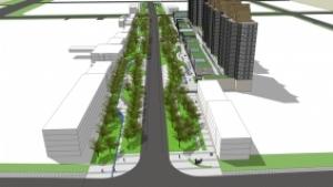 三河文化艺术大街景观规划设计