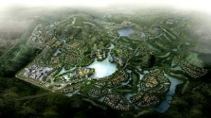 武汉巴登城城市设计及控规