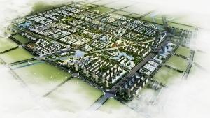 山东陵县城市中心区控规及城市设计