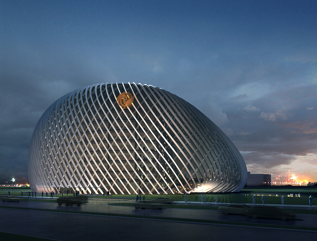 凤凰国际传媒中心室内外风环境优化设计