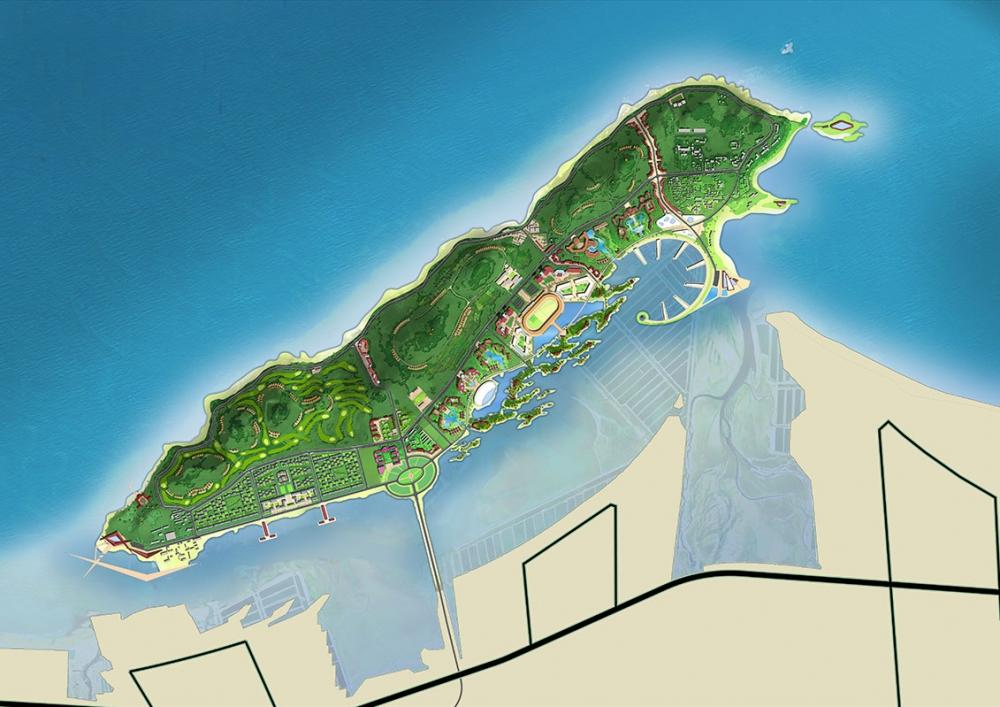 富力烟台养马岛旅游度假区概念规划