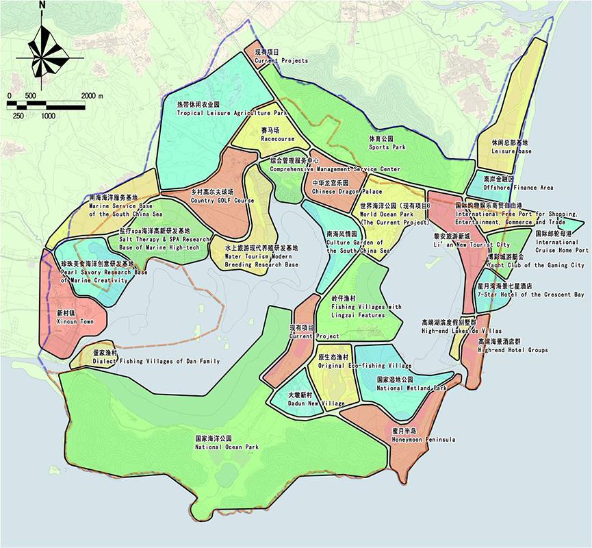项目地点:海南省 设计单位:城市发展策划研究所,旅游与风景区规划研究
