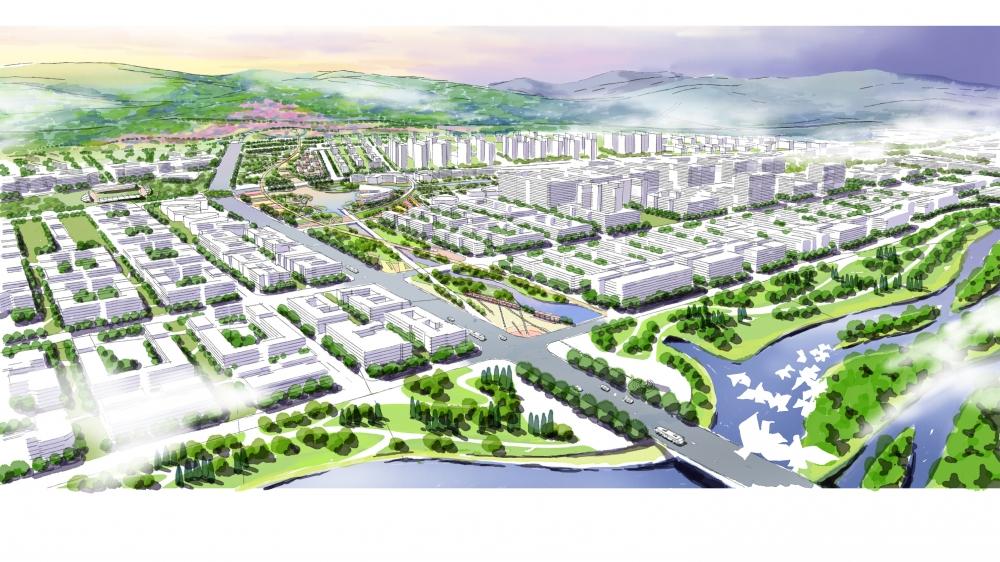 扎兰屯市河西新区景观规划