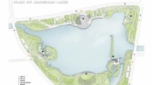 江苏徐州铜山娇山湖公园景观规划设计