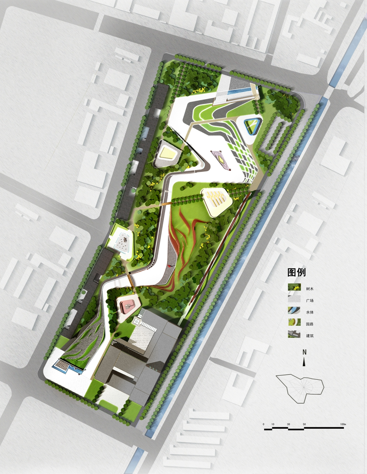 甘肃省民勤生态文化园景观规划设计