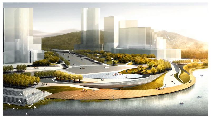 河南省舞钢市龙泉广场景观规划设计
