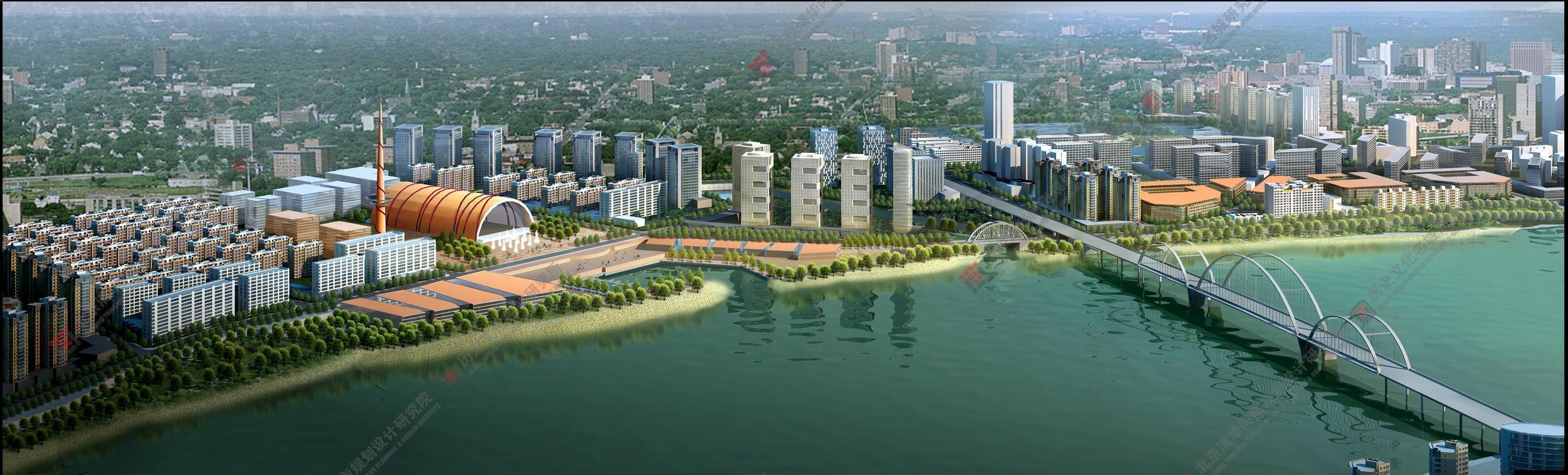 株洲湘江风光带景观规划设计(2010年湖南省优秀规划设计一等奖)