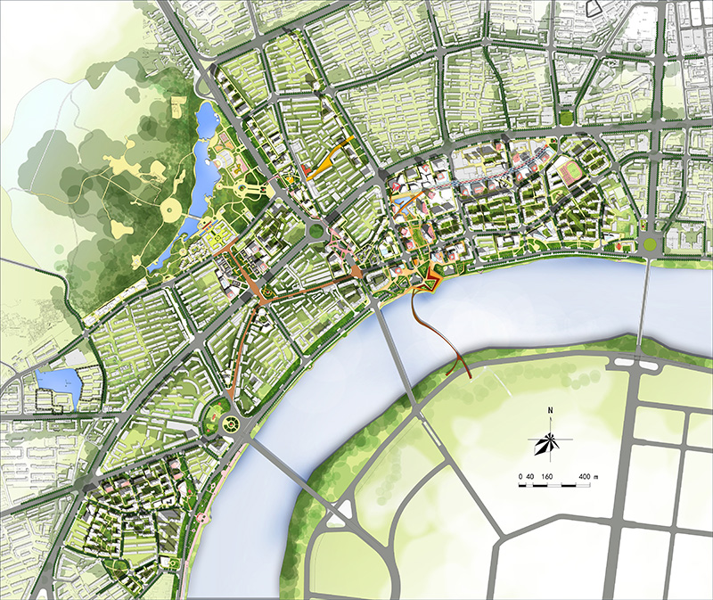 吉林市老城区更新改造研究性详细规划