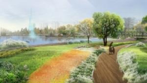 咸阳市两寺渡公园景观规划设计
