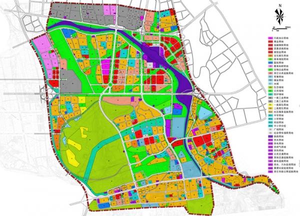 乌鲁木齐高铁片区控制性详细规划整合及核心区控制性