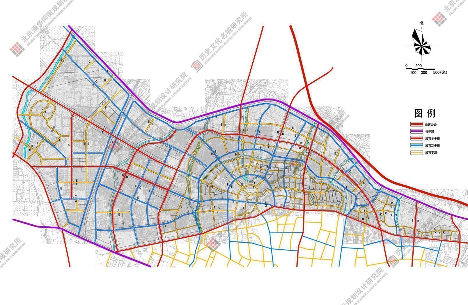 包头北梁片区城市设计与控制性规划(2013年全国人居环境综合大奖)