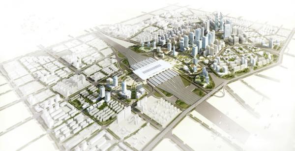 石家庄市新客站广场区域详细城市设计