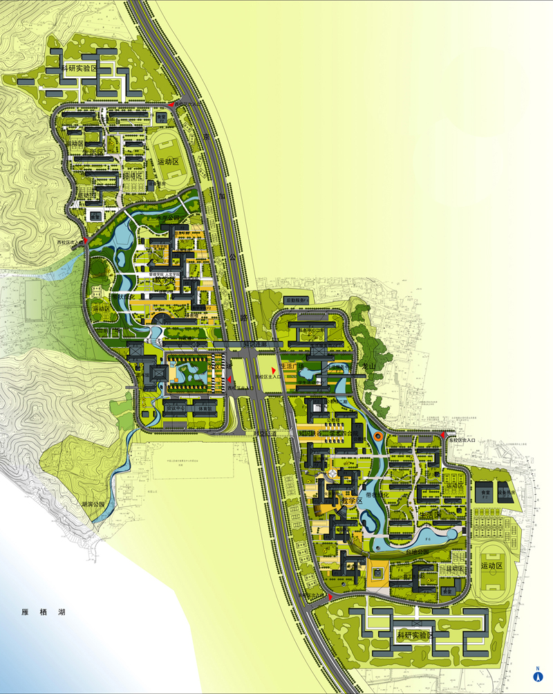 中国科学院研究生院怀柔园区项目交通影响评价