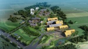 中国农庄经济示范区总体策划