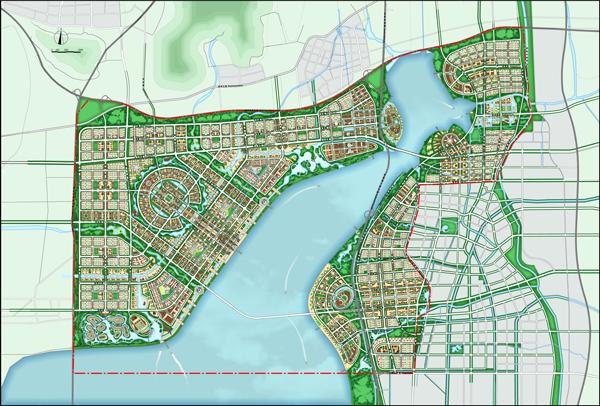 苏州东太湖湖滨新城概念规划国际咨询