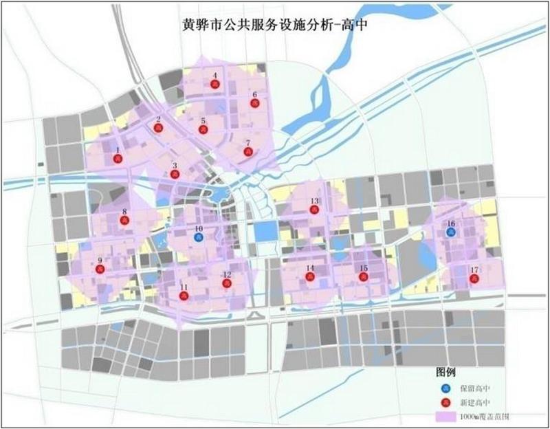 黄骅市区街道地图