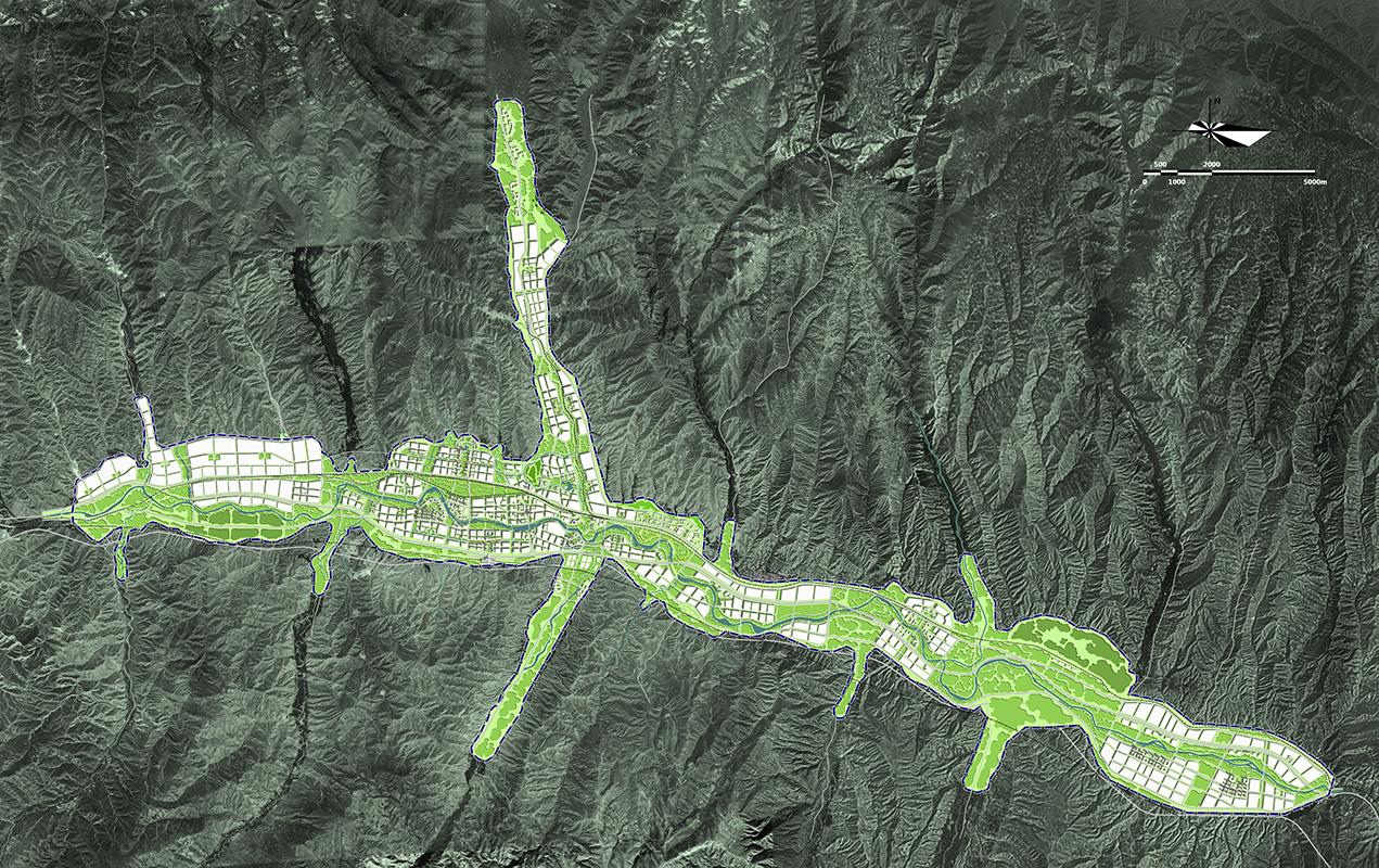 青海省乐都县总体城市设计