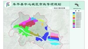 阜平县中心城区市政专项规划