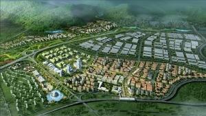 大连旅顺口区长城街道城市设计