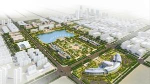 渭南市城市中心区城市设计及核心区修建性详细规划