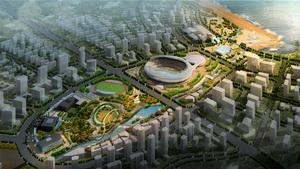 葫芦岛龙湾中央商务区景观规划设计