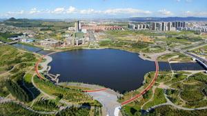 阜新玉龙新城段核心区景观规划设计