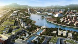 旅顺临港新城核心区景观规划设计
