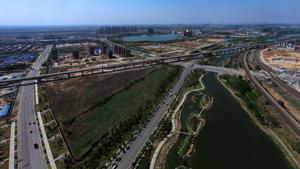 唐山丰南西城区围绕津唐运河景观规划设计