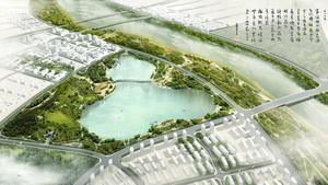 酒泉北大河生态景观治理工程综合规划设计
