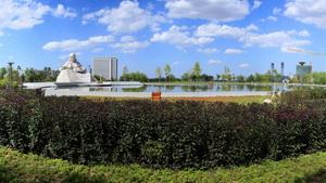 鄂尔多斯诃额伦母亲公园设计