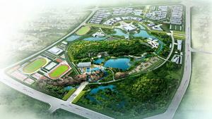 福州大学新校区园林规划设计