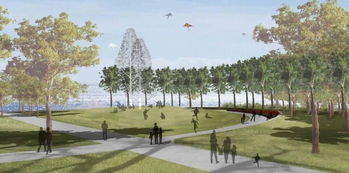 葫芦岛市海滨休闲公园景观设计