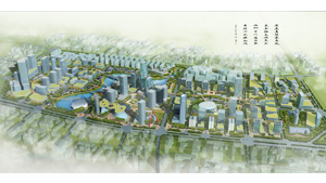 东莞市南城国际商务区景观设计