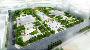 汤阴县人和公园景观设计