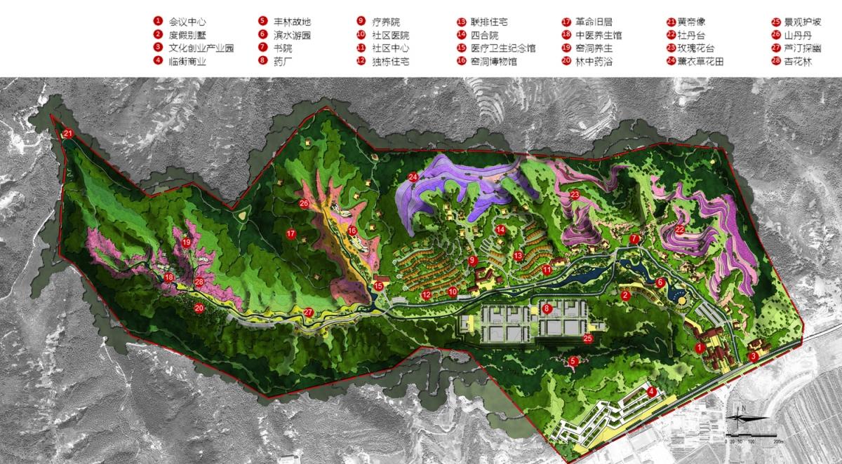 所属分类:景观园林规划设计 项目地点:陕西省 设计单位:风景园林营造
