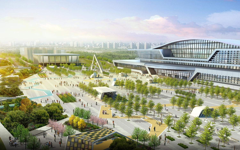 西宁火车站地区站前广场景观设计