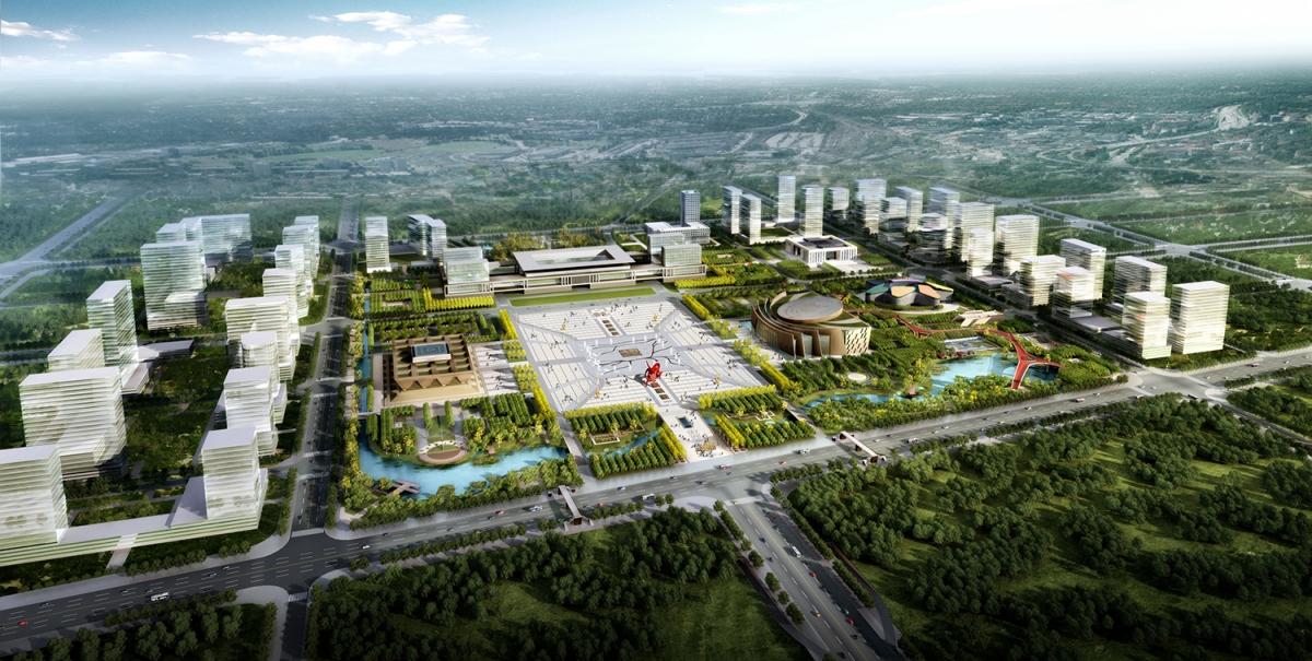 邢台新区市民文化公园景观设计