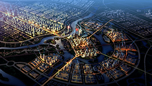 西安沣渭新区概念性规划国际招标