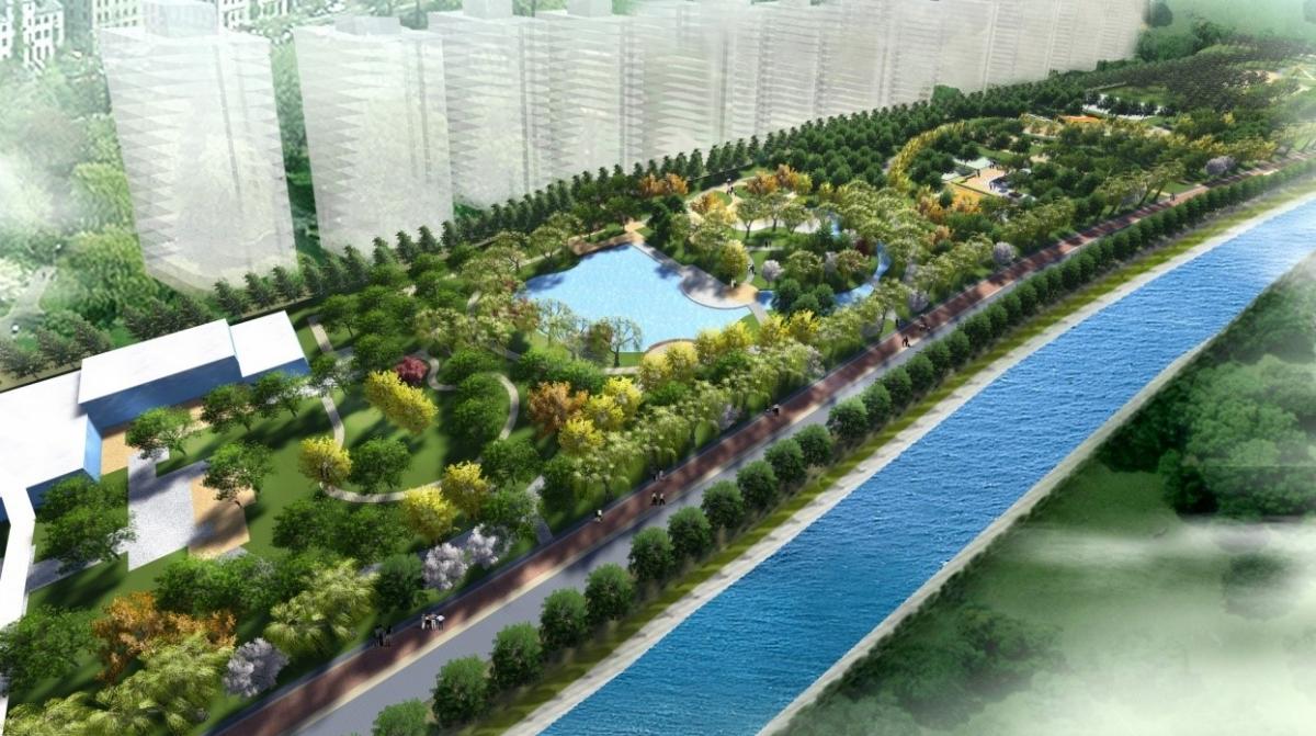 永定河水渠绿地景观方案设计