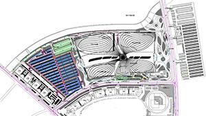 无锡万达城A1地块交通体系与停车场设计