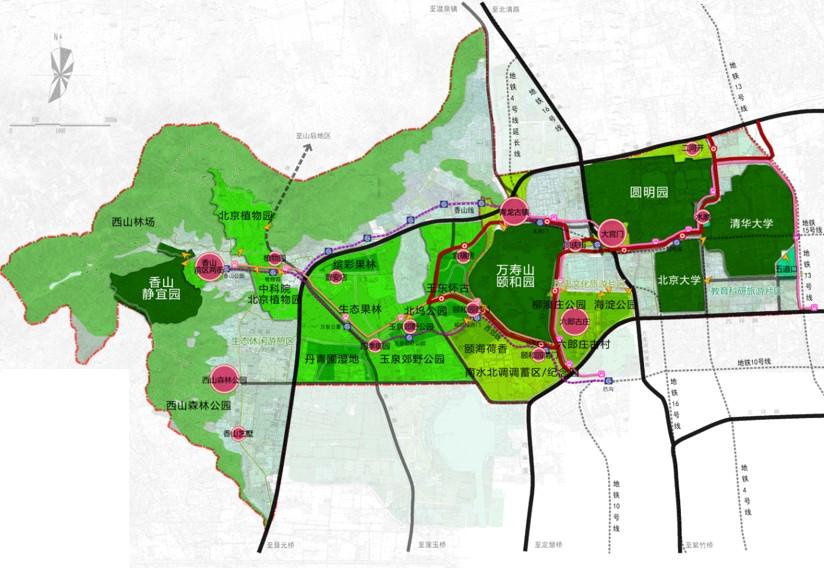 景观园林规划设计 项目地点:北京市 设计单位:旅游与风景区规划研究所