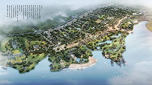 浠水巴河望天湖生态文化小镇概念规划